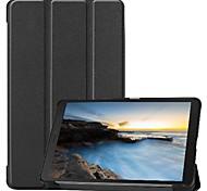 economico -telefono Custodia Per Samsung Galaxy Integrale Samsung Tab A 8.0 (2019) T290 / 295 Resistente agli urti Origami Tinta unita pelle sintetica