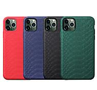 abordables -téléphone Coque Pour Apple Coque Arriere iPhone 12 Pro Max 11 SE 2020 X XR XS Max 8 7 6 Antichoc Lignes / Vagues Couleur unie TPU