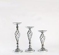 economico -oggetti di scena di nozze semplice candeliere in stile europeo tavolo da soggiorno per la casa decorazione floreale ornamenti floreali