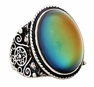economico -anello di umore magico di design classico degli anni '70 per la giovane donna della moda unisex