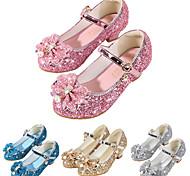 abordables -Fille Chaussures à Talons Mocassin Chaussures de Demoiselle d'Honneur Fille Le Jour des enfants Gomme Polyuréthane Petits enfants (4-7 ans) Grands enfants (7 ans et +) Quotidien Soirée & Evénement