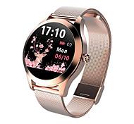 abordables -LW10 Smartwatch Montre Connectée pour Android iOS Samsung Apple Xiaomi Bluetooth 1.04 pouce Taille de l'écran IP68 Niveau imperméable Imperméable Ecran Tactile Moniteur de Fréquence Cardiaque Mesure