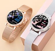 abordables -LW20 Smartwatch Montre Connectée pour Android iOS Samsung Apple Xiaomi Bluetooth 1.04 pouce Taille de l'écran IP 67 Niveau imperméable Imperméable Ecran Tactile Moniteur de Fréquence Cardiaque Mesure