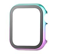 economico -Custodie Per Apple  iWatch Apple Watch Serie 6 / SE / 5/4 44 mm / Apple Watch Serie  6 / SE / 5/4 40mm / Apple Watch Serie  3/2/1 38 mm Lega Proteggi Schermo Custodia per Smartwatch  Compatibilità