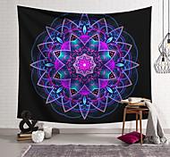 abordables -tapisserie murale art décor couverture rideau suspendu maison chambre salon décoration polyester fibre couleur géométrique symétrique motif orchidée pavillon conception