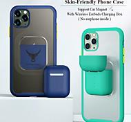 economico -telefono Custodia Per Apple Per retro Custodia ad adsorbimento magnetico iPhone 12 Pro Max 11 SE 2020 X XR XS Max 8 7 Resistente agli urti Transparente Tinta unita TPU PC