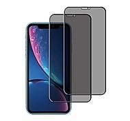 economico -protezione per schermo privacy per iphone xs max / iphone 11 pro max 6,5 pollici, pellicola in vetro temperato anti spia (confezione da 2)