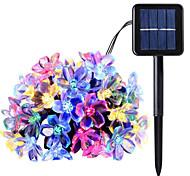 abordables -LED solaire guirlande lumineuse 7m 50 leds extérieur étanche mariage patio jardin vacances décoration solaire alimenté