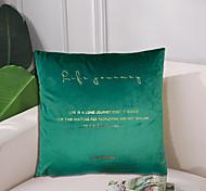 abordables -Lumière de luxe de mode lisi velours marque or taie d'oreiller couverture salon chambre canapé housse de coussin moderne échantillon chambre housse de coussin