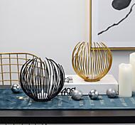 economico -artigianato in metallo ferro ccandlestick ornamenti decorazione della casa romantica sala da pranzo tavolo candeliere decorazioni