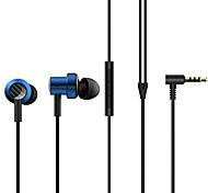 """economico -Xiaomi SDQEJ06WM Auricolari in-ear cablato """"Jack audio da 3,5 mm"""" Con il controllo del volume per Apple Samsung Huawei Xiaomi MI Sport Fitness"""