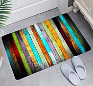 economico -Tappetino da bagno con stampa digitale in legno colorato Tappetini da bagno moderni Tappetini da bagno in memory foam in tessuto non tessuto