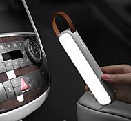 abordables -baseus solaire voiture lumière de secours rechargeable led auto intérieur liseuse portable veilleuse magnétique voiture signal lampe noir blanc