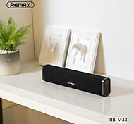 economico -Remax RB-M33 Casse acustistiche per bassissime frequenze (subwoofer) Bluetooth USB Scheda TF Impermeabile Banca di potere mobile Altoparlante Per
