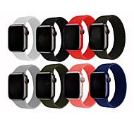 economico -Cinturino intelligente per Apple  iWatch 1 pcs Cinturino sportivo Silicone Sostituzione Custodia con cinturino a strappo per Apple Watch  6 / SE / 5/4/3/2/1