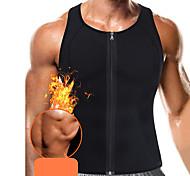 abordables -Gilet d'Entraînement de Taille Débardeur en néoprène Gilet amincissant chaud de débardeur d'entraînement de sueur Des sports Néoprène Aptitude Exercice Physique Fonctionnement Perte de poids Exercice
