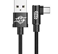 economico -BASEUS USB C Cavi Piatto Trasmissione dati Caricatore del telefono 2 A 1.0m (3 piedi) ABS + PC Per Xiaomi MI Samsung Xiaomi Appendini per cellulare