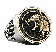 economico -anelli in acciaio inossidabile per uomo - anelli fantastici norse odin fenrir anello vichingo mago guerriero cacciatore testa di lupo in rilievo zampa di lupo anelli di gioielli vantaggiosi - moda