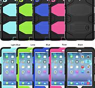 economico -telefono Custodia Per Apple Per retro iPad mini 1/2/3 7,9 pollici iPad mini 4 7,9 pollici iPad mini 5 7,9 pollici Resistente agli urti Tinta unita Silicone PC