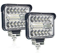 abordables -1 pcs 12V 54W Wrok Lumière LED Bar LED Lightbar 3030 LED 20smd Pour Camion Tracteur SUV 4x4 Voiture LED Phares Éclairage Spot Barre De Travail