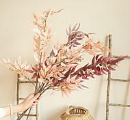 abordables -plantes artificielles feuilles décor de table fête de mariage simulation décorative fleurs 1 pièce