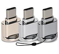 abordables -adaptateur de type c otg usb3.1 lecteur de carte de type c téléphone portable connexion de tablette u convertisseur de disque