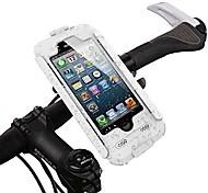 """abordables -étui étanche pour vélo, support de téléphone pour guidon de montage pour moto, étui étanche pour support de moto pour iphone 6 / 6s (4.7 """") (blanc, iphone 6 / 6s)"""