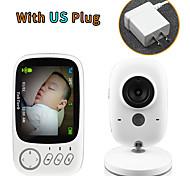 abordables -LITBest® PAL: 352 X 288; NTSC: 352 X 240 mp Moniteur pour bébé 360 ° Caméra dôme ° C Gamme de vision nocturne 0 GHz 3 m