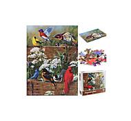 abordables -Épaissi 1000 pièces de modèle animal image de bon augure oiseau langue fleur parfum puzzle enfants cadeau éducatif jouet