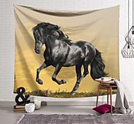abordables -Tapisserie murale art décor couverture rideau suspendu maison chambre salon décoration cheval galop motif