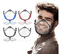economico -2 pezzi nuova maschera trasparente completa per la maschera sordomuto maschera trasparente antiappannamento hd maschera lingua labbra regolabile