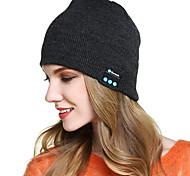 abordables -bonnet bluetooth, chapeau éclairé par LED avec haut-parleurs stéréo intégrés& micro, casque unisexe rechargeable usb bonnet tricoté pour l'extérieur, le sport, le camping, la randonnée, la