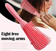 economico -spazzola districante per capelli ricci, spazzola per capelli naturali per capelli testurizzati da 3a a 4c crespi ondulati / ricci / arruffati / bagnati / asciutti / olio / spessi / lunghi, districante