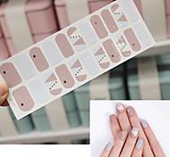 abordables -5 pcs Autocollants Créatif Manucure Manucure pédicure Amovible / Jetable Romantique / Mode Quotidien