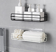 economico -Strumenti Lavabile / Auto-adesivo / Multiuso Contemporaneo moderno Metallo 2 pezzi / 1 pc - Strumenti e attrezzi organizzazione del bagno