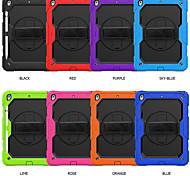economico -telefono Custodia Per Apple Integrale iPad 8 (2020) 10.2 '' iPad 7 (2019) 10,2 pollici Resistente agli urti Tinta unita Silicone PC