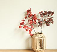abordables -Feuilles artificielles décor à la maison fête de mariage plantes artificielles affichage de table simulation feuilles 1 pièce