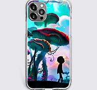 abordables -Imprimés Photos Mode Cas Pour Pomme iPhone 12 iPhone 11 iPhone 12 Pro Max Modèle unique Étui de protection Antichoc Coque TPU