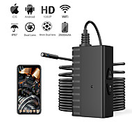 abordables -5 millions d'endoscope ultra clair 8mmwifi 1080p caméra android ios double objectif fil dur 10m