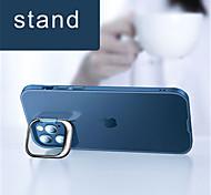 economico -telefono Custodia Per Apple Per retro iPhone 12 Pro Max 11 Pro Max Con supporto Transparente Trasparente Transparente TPU PC