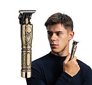 abordables -Tête de mort d'or gravure tondeuse à cheveux électrique tête d'huile rétro pour hommes tondeuse à cheveux rechargeable t9 tête de bouddha tondeuse à cheveux électrique