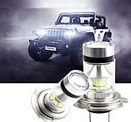abordables -2 pcs H1 / H3 / H4 / H7 / H8 / H11 / 9005/9006 LED Automobiles Assemblage de lampe antibrouillard 100W Ampoule de conduite de voiture Blanc 12V Super Bright Adopter une puce de haute puissance
