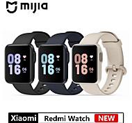 abordables -REDMIWT01 Smartwatch Montre Connectée pour Android Samsung Apple Xiaomi Bluetooth Imperméable Moniteur de Fréquence Cardiaque Longue Veille Elégant Informations Podomètre Rappel d'Appel Hommes femmes