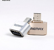 economico -Remax OTG RA-OTG USB 2.0 a Micro USB tipo B Hub USB 1 Porti Per Windows, PC, laptop