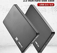 economico -custodia per disco rigido per computer portatile usb 3.0 / 2.0 5 gbps 2,5 pollici sata