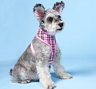 economico -Prodotti per cani Pettorine Semplici Casuale / sportivo Abbigliamento per cani Vestiti del cucciolo Abiti per cani Rosa Costume per ragazza e ragazzo cane Nylon XS S M L XL