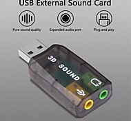 economico -scheda audio virtuale 5.1 adattatore audio usb esterno da usb a jack scheda audio cuffie da 3,5 mm per pc laptop notebook