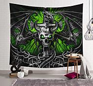 abordables -Tapisserie murale art décor couverture rideau suspendu maison chambre salon décoration polyester fibre squelette épée dragon lanting conception