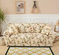 abordables -housse de canapé 1 pièce à imprimé floral housse de canapé housse de meuble housse souple extensible tissu jacquard spandex super fit pour canapé 1 ~ 4 coussin et canapé en forme de l, facile à