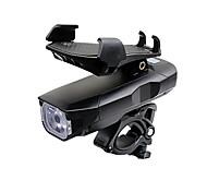 abordables -LED Eclairage de Velo Pinces et supports Eclairage de Vélo Avant Lumière de corne de vélo LED Vélo Cyclisme Imperméable Super brillant Professionnel Ajustable Batterie Li-ion rechargeable 2500 lm